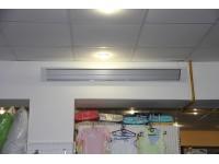 Обогрев магазина потолочными обогревателями