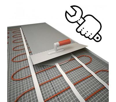 Монтаж электрического теплого пола (кабель, маты, ик пленка)