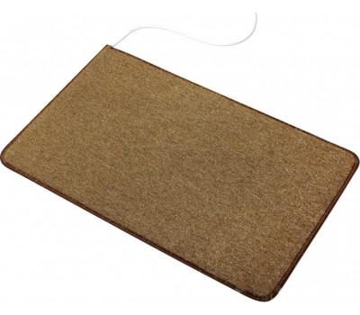 Коричневый коврик с подогревом