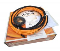 Теплый пол Woks тонкий кабель 10 Вт/м