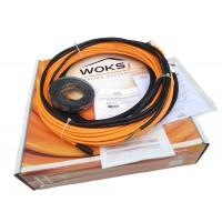 Теплый пол Woks (Украина) тонкий кабель 10 Вт/м