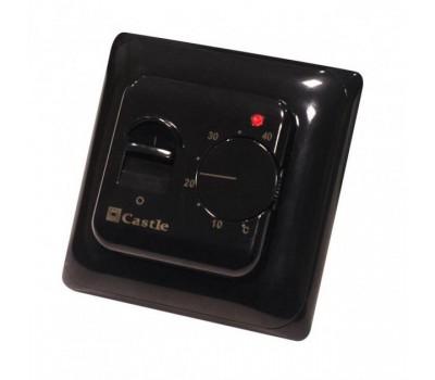 Терморегулятор для теплого пола Castle M 5.16 черный
