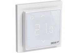 WIFI терморегулятор для теплої підлоги DEVIregTM Smart Білий