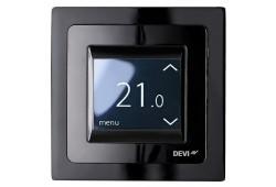 Сенсорний терморегулятор DEVIregТМ Touch Чорний