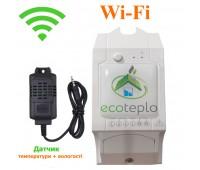 Wi-Fi терморегулятор для обогревателей ECOTEPLO S-1