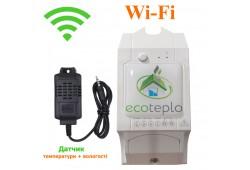 Wi-Fi терморегулятор для обігрівачів ECOTEPLO S-1
