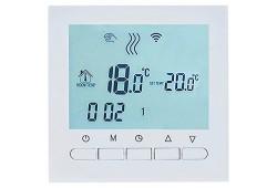 WIFI Сенсорний програматор для теплої підлоги EcoTerm KN білий