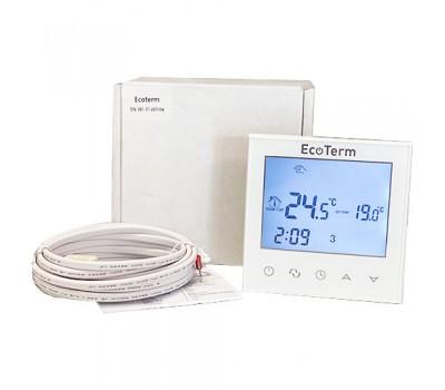 WIFI Сенсорний програматор для теплої підлоги EcoTerm SN білий