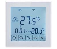 WIFI Сенсорний програматор для теплої підлоги EcoTerm SEN білий