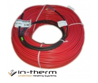 Теплый пол IN-TERM ECO (Чехия) нагревательный кабель 20 Вт/м