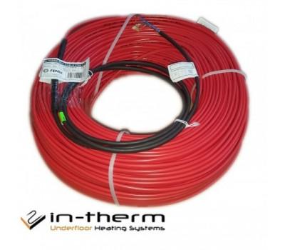 Нагрівальний кабель IN-TERM ECO (Чехія) 20 Вт/м під плитку, в стяжку