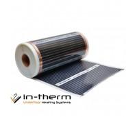 Інфрачервона плівка IN-THERM 310 (ширина 100 см, 220 Вт/мп) під ламінат, лінолеум