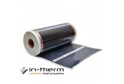 Інфрачервона плівка IN-THERM 305 (ширина 50 см, 110 Вт/мп) під ламінат, лінолеум