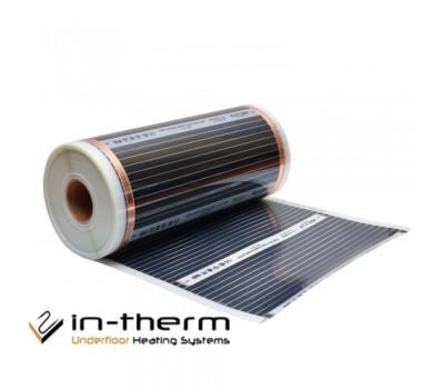 Інфрачервона плівка IN-THERM 308 (ширина 80 см, 175 Вт/мп) під ламінат, лінолеум