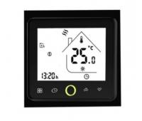 WIFI терморегулятор для теплого пола Castle TWE черный