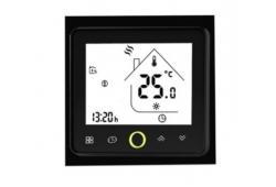 WIFI терморегулятор для теплої підлоги Castle TWE чорний