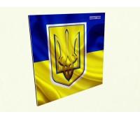 Керамический обогреватель c фото флаг Украины