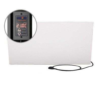 Керамічний обігрівач Камін з терморегулятором 700 Вт (14 м2)