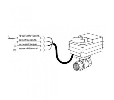 Кран з електроприводом Neptun AquaСontrol 220В 1 (МК)