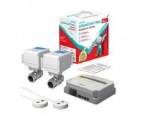Система контролю від протікання води Neptun Aquacontrol 1/2 220В (2 крана, 2 датчика)