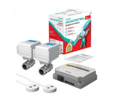 Система контроля от протечек воды Neptun Aquacontrol 1/2 220В (2 крана, 2 датчика)