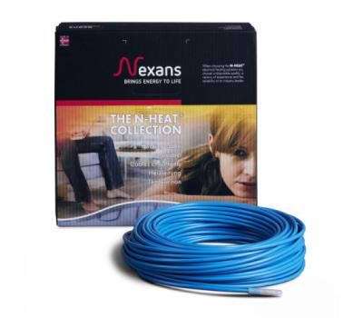 Теплый пол Nexans (Норвегия) нагревательный кабель 17 Вт/м
