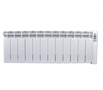 Низькопідлоговий електрорадіатор Оптімакс 1440 Вт (16 м2) 12 секцій