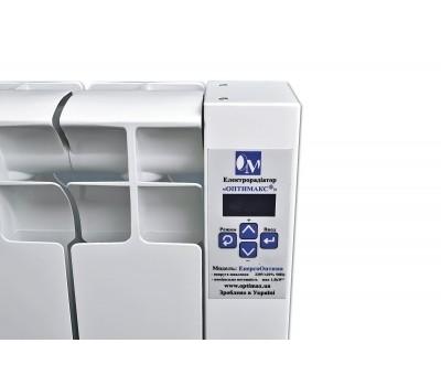 Низкопольный электрорадиатор Оптимакс 1080 Вт (10 м2) 9 секций