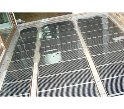 Инфракрасная пленка IN-THERM 305 (ширина 50 см, 75 Вт/мп) под ламинат, линолеум