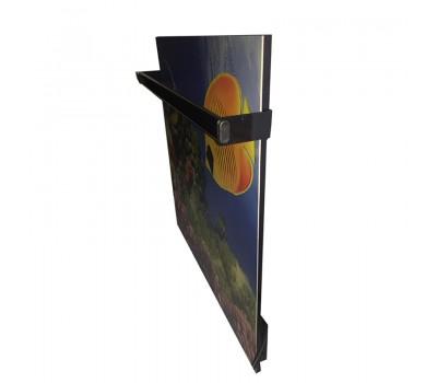 Дизайнерский полотенцесушитель Камин с кнопкой 475 Ватт