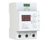 Терморегулятор для теплого пола terneo на DIN-рейку