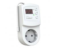 Розеточный терморегулятор для обогревателей terneo rz